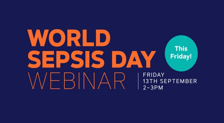 Join Korrin and the Sepsis Trust Team on World Sepsis Day